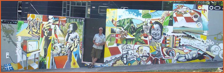 Yannick Picard painter from Québec (Canada) - muralist
